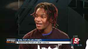 MorningLine: Resources For At Risk Youth- REAL Program P.2 [Video]