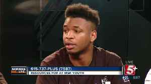 MorningLine: Resources For At Risk Youth- REAL Program P.1 [Video]