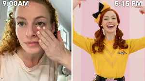The Wiggles' Emma Watkins Entire Routine, from Waking Up to Showtime [Video]