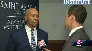 'It is still a wide-open race' for nomination, says Deval Patrick [Video]