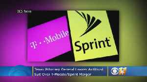 Texas Attorney General Leaves Antitrust Suit Over T-Mobile-Sprint Merger [Video]