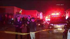 Man Sought After Weekend Shooting That Injured 6 at LA Warehouse Party: LAPD [Video]
