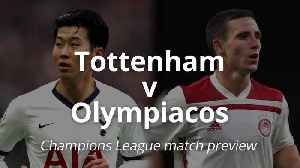 Champions League: Tottenham v Olympiacos [Video]