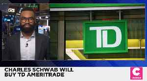 Charles Schwab Will Buy TD Ameritrade for $26 Billion [Video]