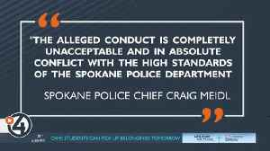 Spokane Police chief responds to the arrest of an officer charged with rape [Video]