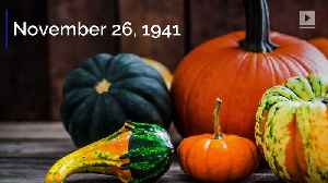 This Day in History: FDR Establishes theModern Thanksgiving Holiday [Video]