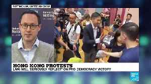 "Andreas Fulda on France 24: ""Local Hong Kong election: a humiliating defeat for the pro-Beijing camp"" [Video]"