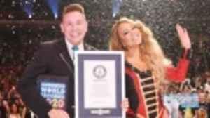 News video: Mariah Carey Sets Three Guinness World Records | Billboard News