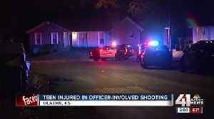 Olathe teen injured in officer-involved shooting [Video]