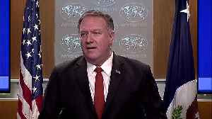 American killed in Kabul on Sunday -Pompeo [Video]