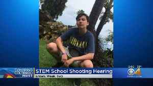 Testimony Continues In STEM School Shooting Hearing [Video]