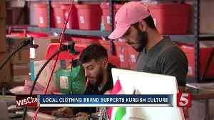 With recent spotlight on Kurds, local clothing brand highlights culture [Video]