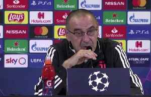 Juve's Sarri says there is no disagreement with Cristiano Ronaldo [Video]