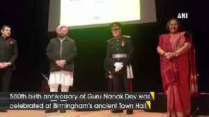 CM Capt Amarinder Singh attends Guru Nanak Jayanti event in Birmingham [Video]