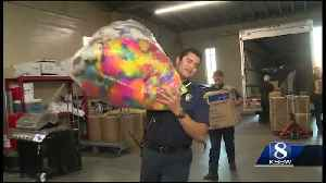 Salinas firefighters bring back truckloads of toys from SoCal [Video]