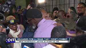Three men exonerated 36 years after being convicted of teen's murder [Video]