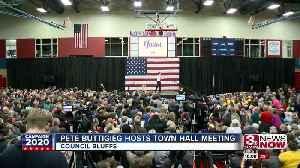 News video: Pete Buttigieg hosts town hall meeting