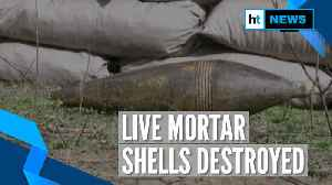 Forces destroy live mortar shells fired by Pakistan in Nowshera, J&K [Video]