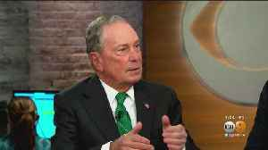 News video: Bloomberg Officially Joins Presidential Campaign With Multimillion-Dollar Ad Blitz