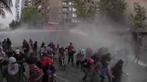 Violence rages in Chile as police fire teargas at protesters [Video]
