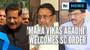 Fadnavis faces floor test on Wednesday: What Sena, NCP & Congress said [Video]