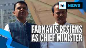 HT Conversations: Devendra Fadnavis resigns after 3 days as Maharashtra CM [Video]
