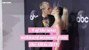 9 of the most awkward moments from the AMAs 2019 [Video]