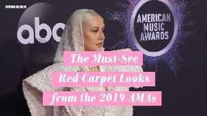 The Must-See Red Carpet Looks from the 2019 AMAs [Video]
