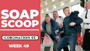 Coronation Street Soap Scoop! Bernie and Chesney fight with Kel [Video]