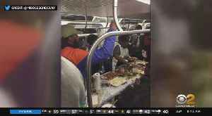 Thanksgiving On The L Train [Video]