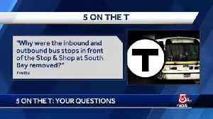 5 on the T: Free ride days, missing bus stops [Video]