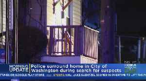 Police Surround Home During Search In Washington Co. [Video]