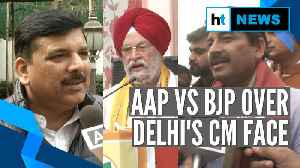 Hardeep Puri retracts Tiwari for CM pitch, AAP says BJP insulted own leader [Video]
