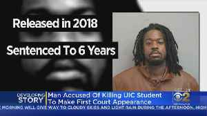 Man Accused Of Killing UIC Student To Make First Court Appearance [Video]