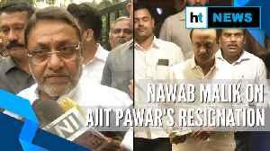 News video: 'Glad Ajit Pawar resigned from Deputy CM's post': NCP's Nawab Malik