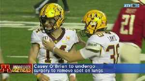 Casey O'Brien To Undergo Surgery To Remove Lung Spot [Video]