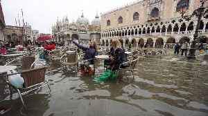 Italy's Venice floods costing '$1bn in damages' [Video]