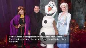 Josh Gad is emotional about Frozen goodbye [Video]