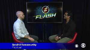 "Sendhil Ramamurthy On CW's ""The Flash"" [Video]"