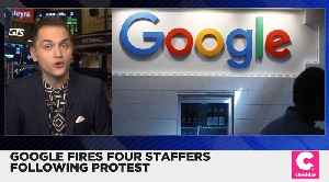 Google Fires Four Staffers for Allegedly Violating Data Security Policy [Video]