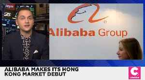 Alibaba Shares Spike After Hong Kong Stock Exchange Debut [Video]