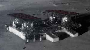 NASA's New Lunar Lander Concept Would Send Rovers to Moon [Video]