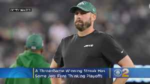 Playoffs? Surging Jets Not Even Entertaining The Thought [Video]