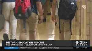 $1.5 Billion Education Reform Bill Now Law In Massachusetts [Video]