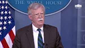 Bolton Posts Another Cryptic Tweet: US Commitment To National Security 'Under Attack From Within' [Video]