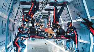 Watch this Formula One crew perform a pit stop in zero gravity [Video]