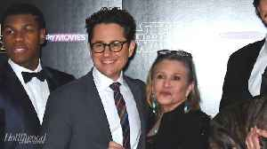 J.J. Abrams Talks Eerie Message Carrie Fisher Left Him in Her Book | THR News [Video]