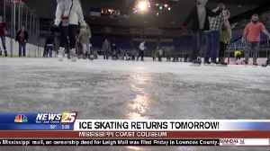 Ice skating returns to the Coast Coliseum Tuesday [Video]