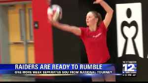 Raiders volleyball works to keep their edge before NAIA Tournament [Video]