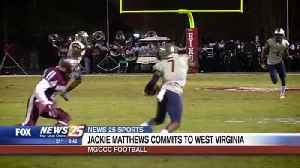 MGCCC Football: Jackie Matthews commits to West Virginia [Video]